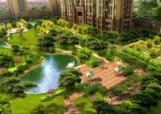 丽景园小区环境设计图片