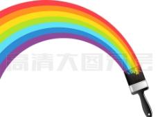 彩虹PSD图片