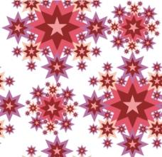 星星花纹图片