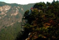 绝壁上的观景台图片