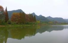 花溪晚秋图片