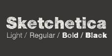 sketchetica系列字体下载图片