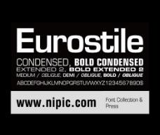 eurostile系列字体下载图片