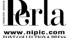 perla系列字体下载图片