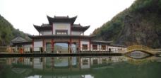 龙潭河山门图片