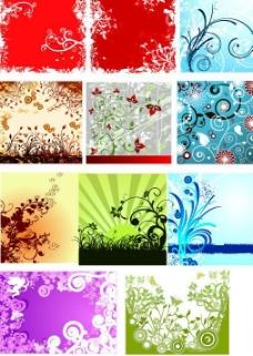 花纹集合图片