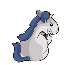 马年吉祥 可爱小马图片