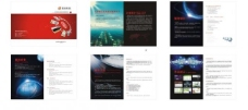 网络公司宣传册图片