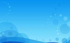 蓝色海洋背景图片