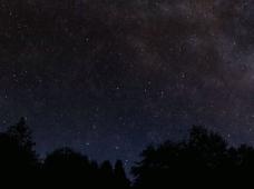 天空星光视频素材 星