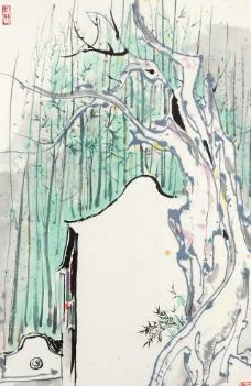 水彩素描学画画图片_绘画书法