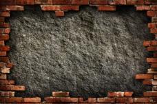 欧式复古墙壁背景图
