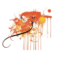 抽象 涂鸦 时尚图形 装饰图