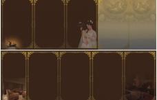 古典矢量花纹5折页图片
