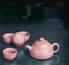 锦绣河山五件套 紫砂图片