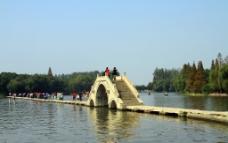 鉴湖风景图片