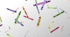 蜡笔视频素材