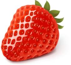 草莓矢量图