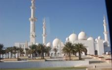 迪拜阿布扎比清真寺图片