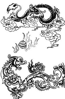 中国龙凤图案图片