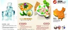 食品展板图片