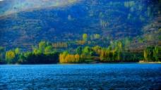 湖光山色美如画图片