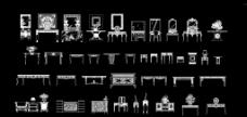 中式立面家具图片