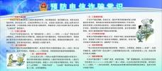 预防电信诈骗展板图片