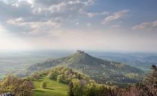 山顶城堡图片