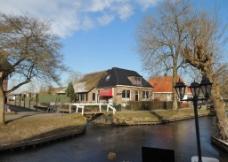 荷兰羊角村图片