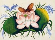 花开富贵牡丹效果图装饰墙素材