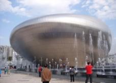 圆形建筑图片