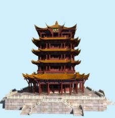 黄鹤楼 3D模型图片