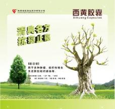 枯木逢春药品展板图片