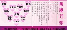 晓港门诊展板图片