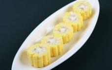 有机 玉米段图片