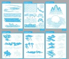 古典云纹图片