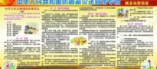防震减灾宣传展板图片