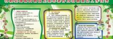 绿色 展板图片