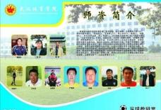 武汉体育学院展板图片