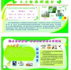环境保护宣传展板图片