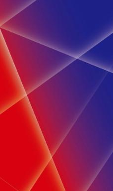 动感线条 蓝色 红色图片