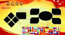 国际交流展板图片