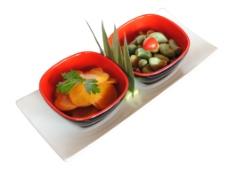 果味萝卜皮精美凉菜菜图片