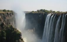 维多利亚瀑布图片
