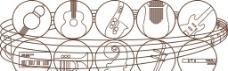 乐器图标图片