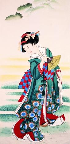 日本仕女画