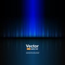 夜色科技,蓝色光线
