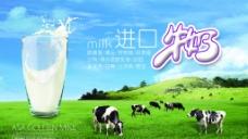进口牛奶图片