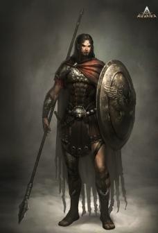 王者世界人物原画图片